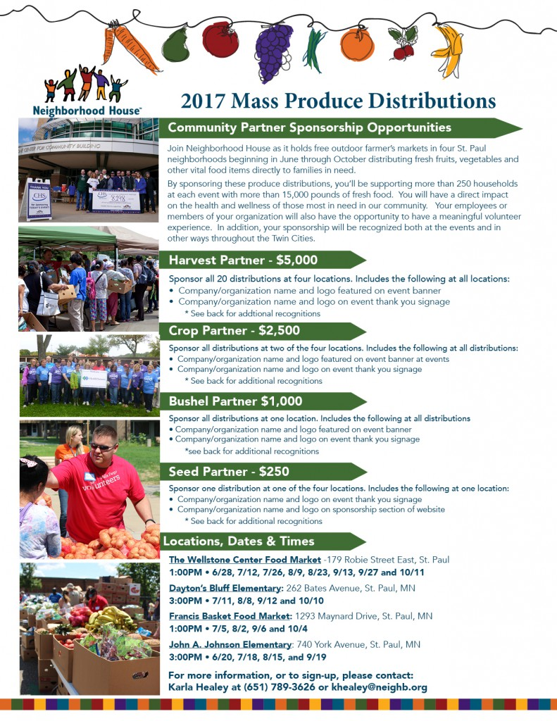 Mass Produce Distribution - Sponsorship Opportunities