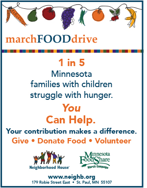 2017 March Food Drive 8.5x11 poster