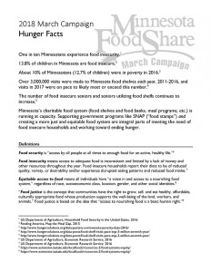 2018+Hunger+Facts