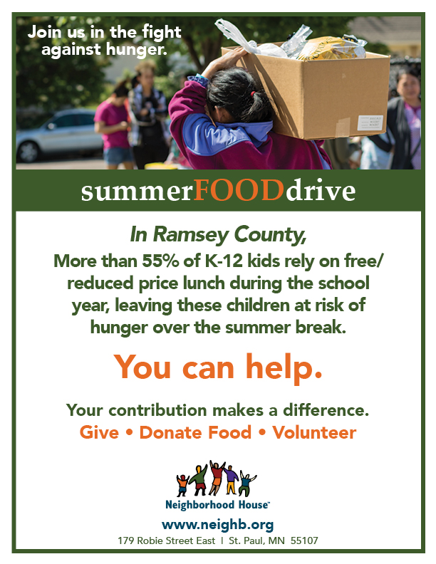 2019 Summer Food Drive 8.5x11 poster