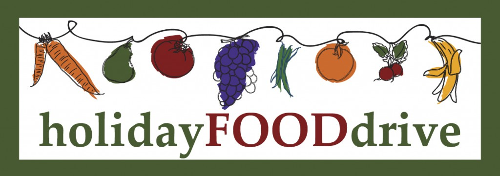 Holiday Food Drive header