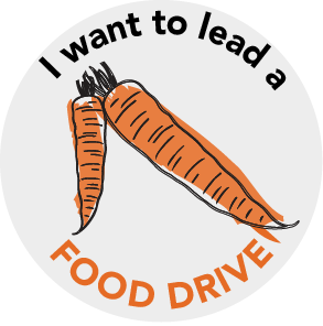 Food Drive Button