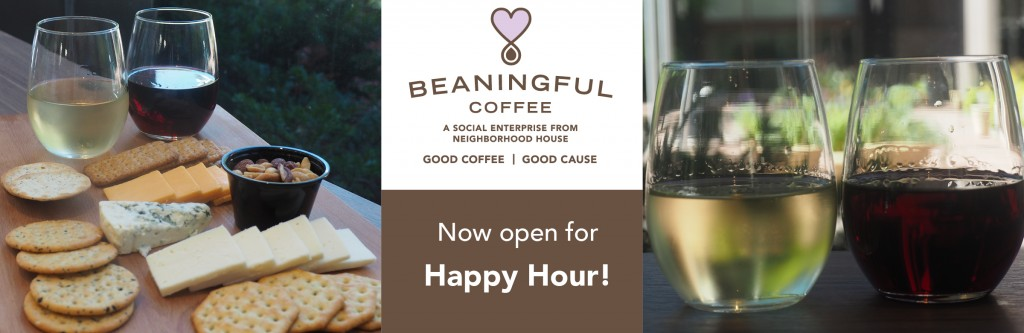 banner for Beaningful happy hour